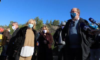 Ministro ambiente visita Pinhal de Leiria