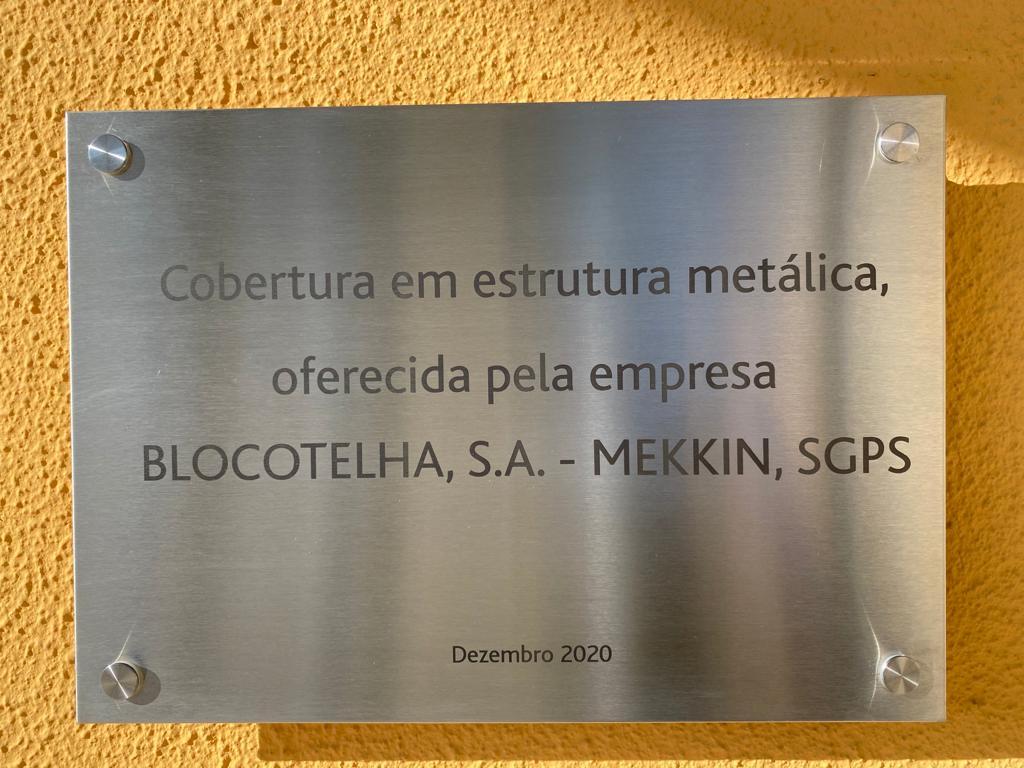 Placa CHL Blocotelha