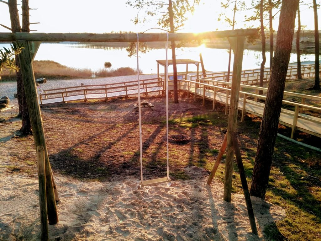 Baloiço Lagoa da Ervedeira