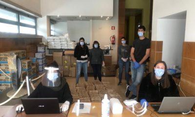 Batalha distribui máscaras