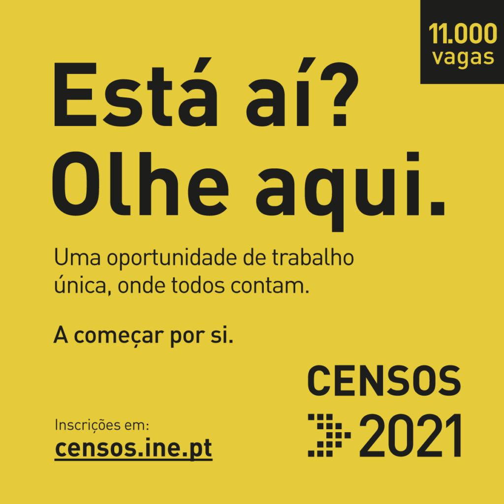 Censos 2021 Emprego