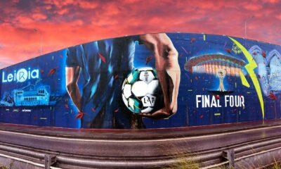 Mural Taça da Liga