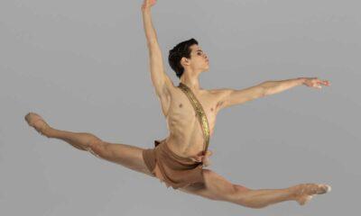 Bailarino no ar