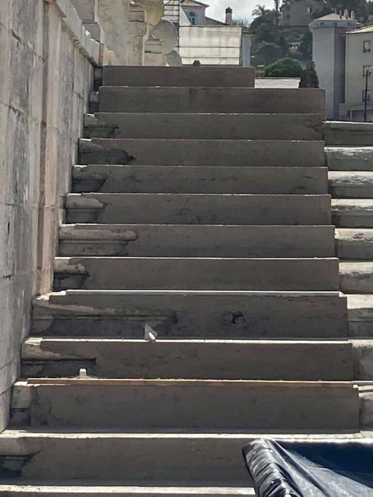 Escadas Mosteiro de Alcobaça