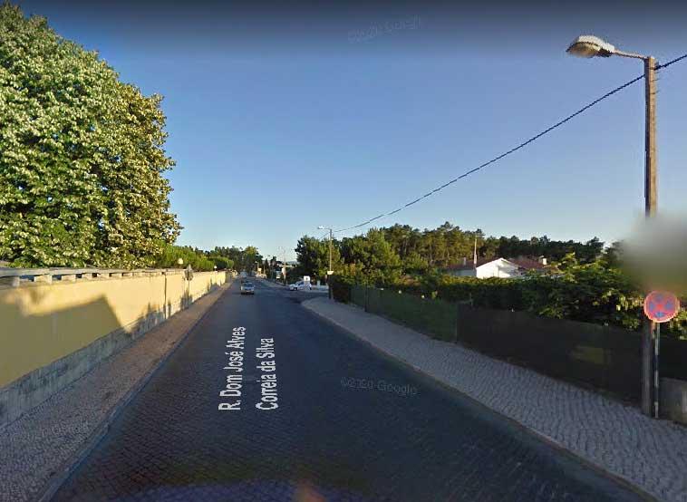 Foto: Rua D. José Correia Alves da Silva, na Cruz D'Areia
