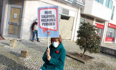 Manifestante Dia da Mulher