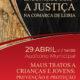 Cartaz Colóquio Encontros com a justiça