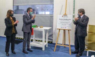 Foto: Inauguração de Centro Biomarinho da Nazaré