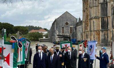 Cerimónia Dia do Combatente, na Batalha