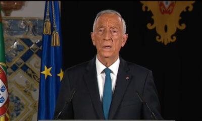 Presidente Marcelo anuncia fim do Estado de Emergência