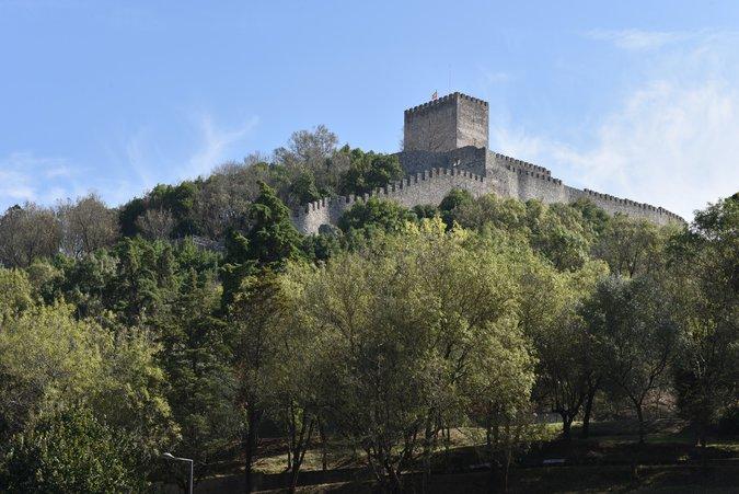 Vista para o Castelo de Leiria