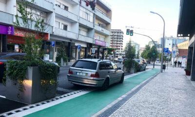 Estacionamento na Ciclovia