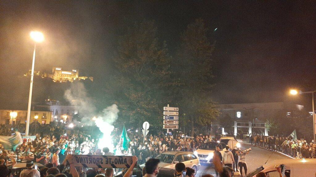 sporting campeão em Leiria