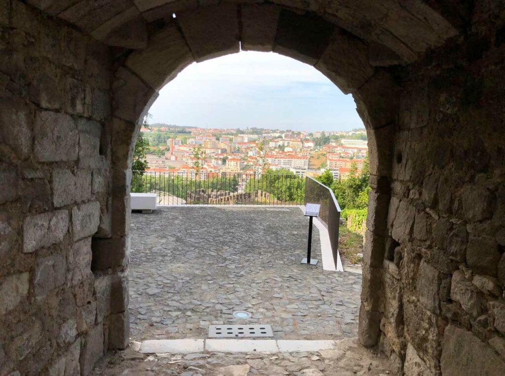 Interior do Castelo de Leiria