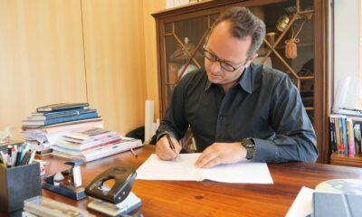 Foto: Presidente da Câmara de Leiria, Gonçalo Lopes / Facebook Gonçalo Lopes